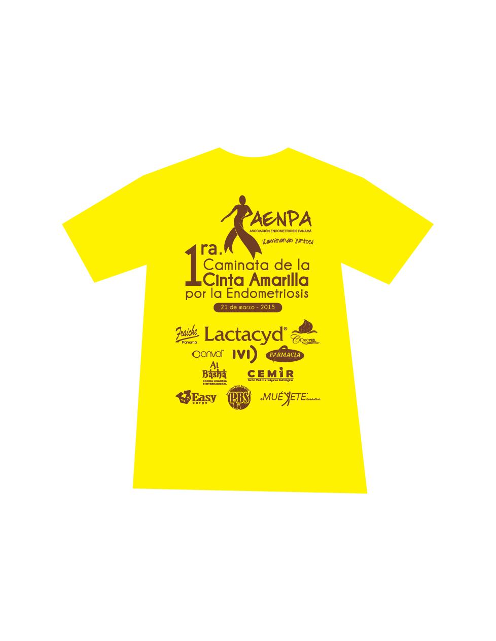 Endometreosis Logo Tshirt_2015-01-2