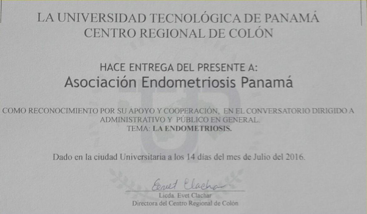 Certificado UTPColón