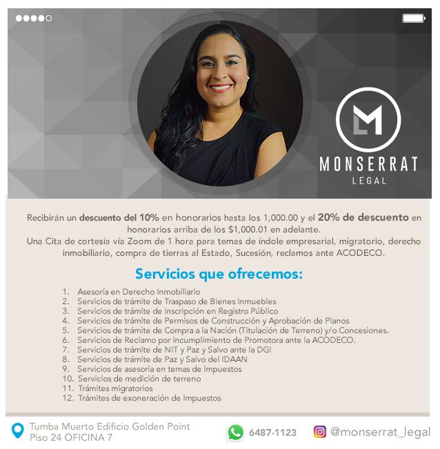 Monserrat Legal